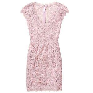 Aritzia Babaton Tobias Dress Pink - Size 00 (NWOT)